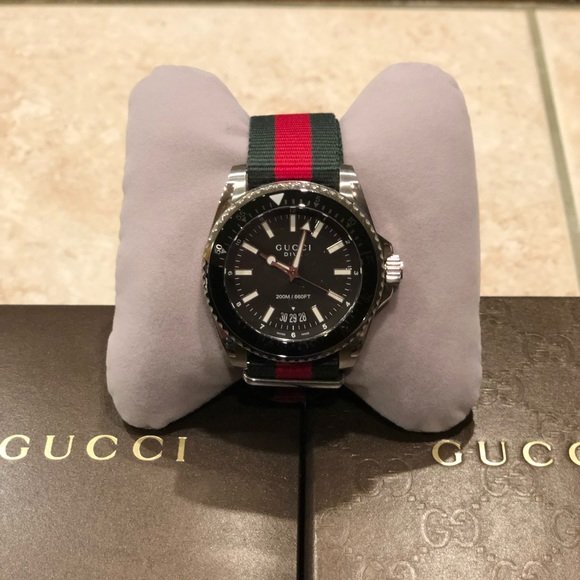e1d16f09bf1 Gucci Other - Men s Gucci Dive Watch   100% Authentic